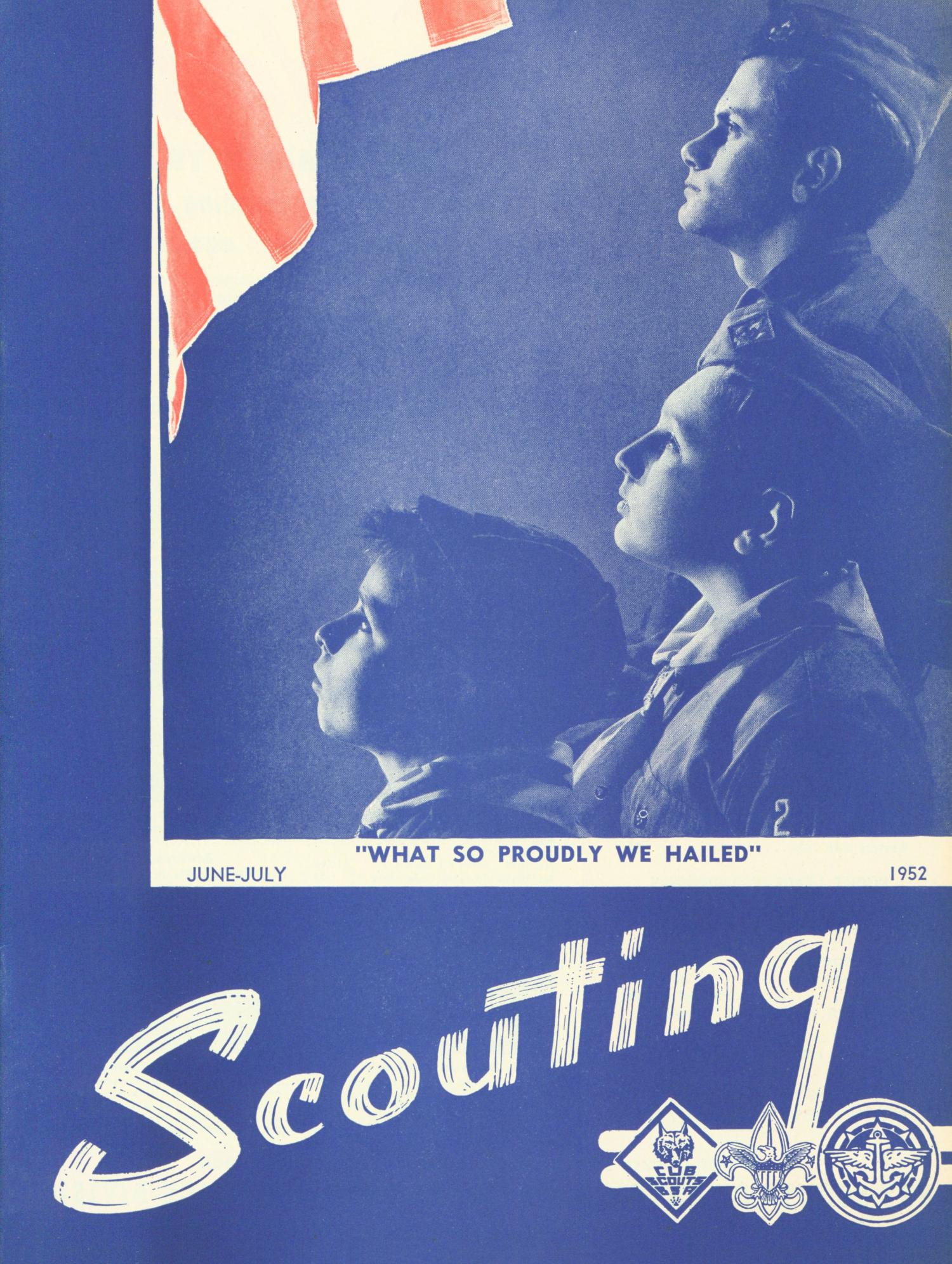 Scouting, Volume 40, Number 6, June-July 1952                                                                                                      Front Cover
