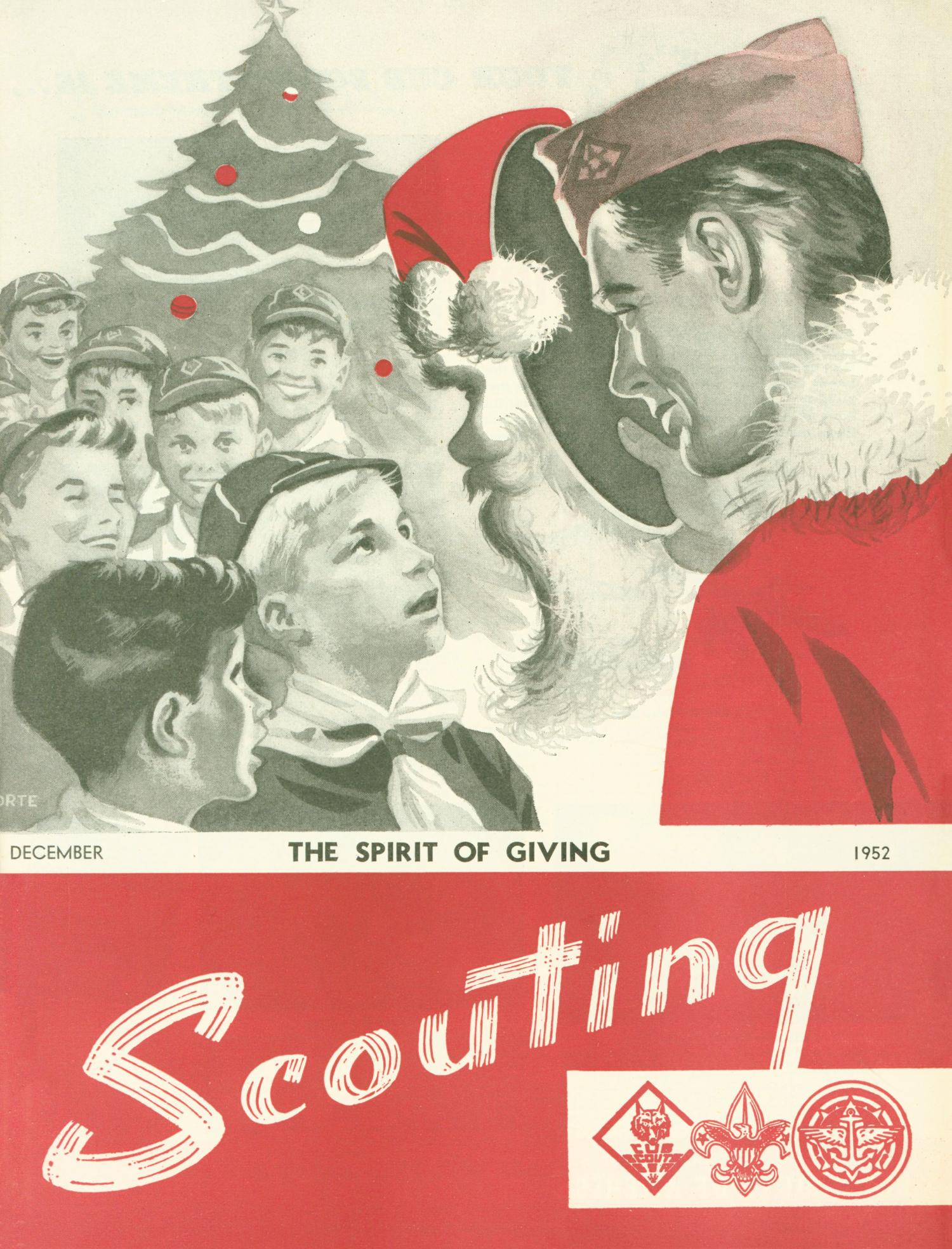 Scouting, Volume 40, Number 10, December 1952                                                                                                      Front Cover
