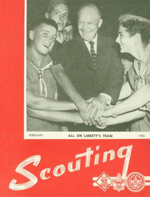 Primary view of object titled 'Scouting, Volume 41, Number 2, February 1953'.