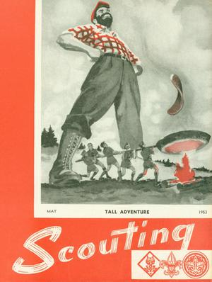 Primary view of object titled 'Scouting, Volume 41, Number 5, May 1953'.