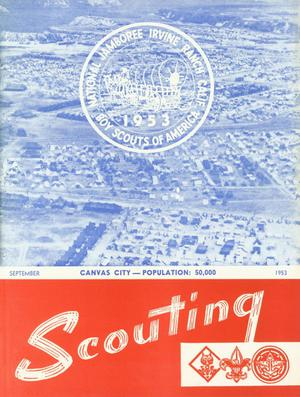 Primary view of object titled 'Scouting, Volume 41, Number 7, September 1953'.