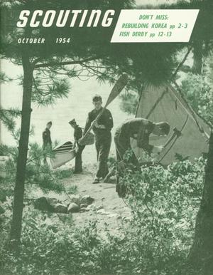 Scouting, Volume 42, Number 8, October 1954