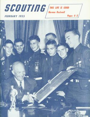 Scouting, Volume 43, Number 2, February 1955