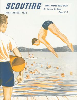 Scouting, Volume 43, Number 6, July-August 1955
