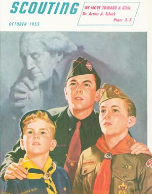Scouting, Volume 43, Number 8, October 1955
