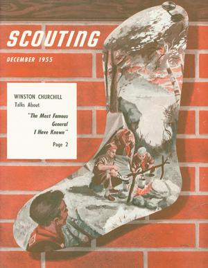 Primary view of object titled 'Scouting, Volume 43, Number 10, December 1955'.