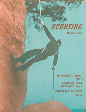 Scouting, Volume 45, Number 3, March 1957