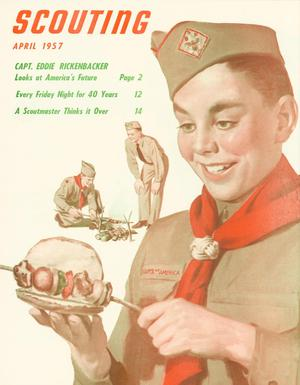 Scouting, Volume 45, Number 4, April 1957