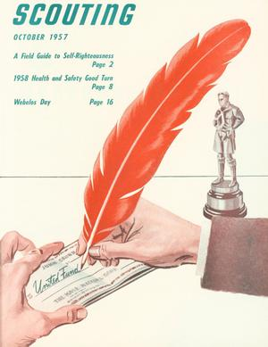 Scouting, Volume 45, Number 8, October 1957