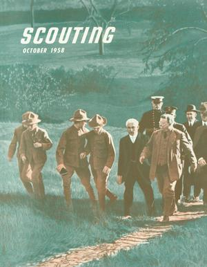 Scouting, Volume 46, Number 8, October 1958
