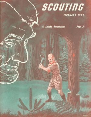 Primary view of Scouting, Volume 47, Number 2, February 1959