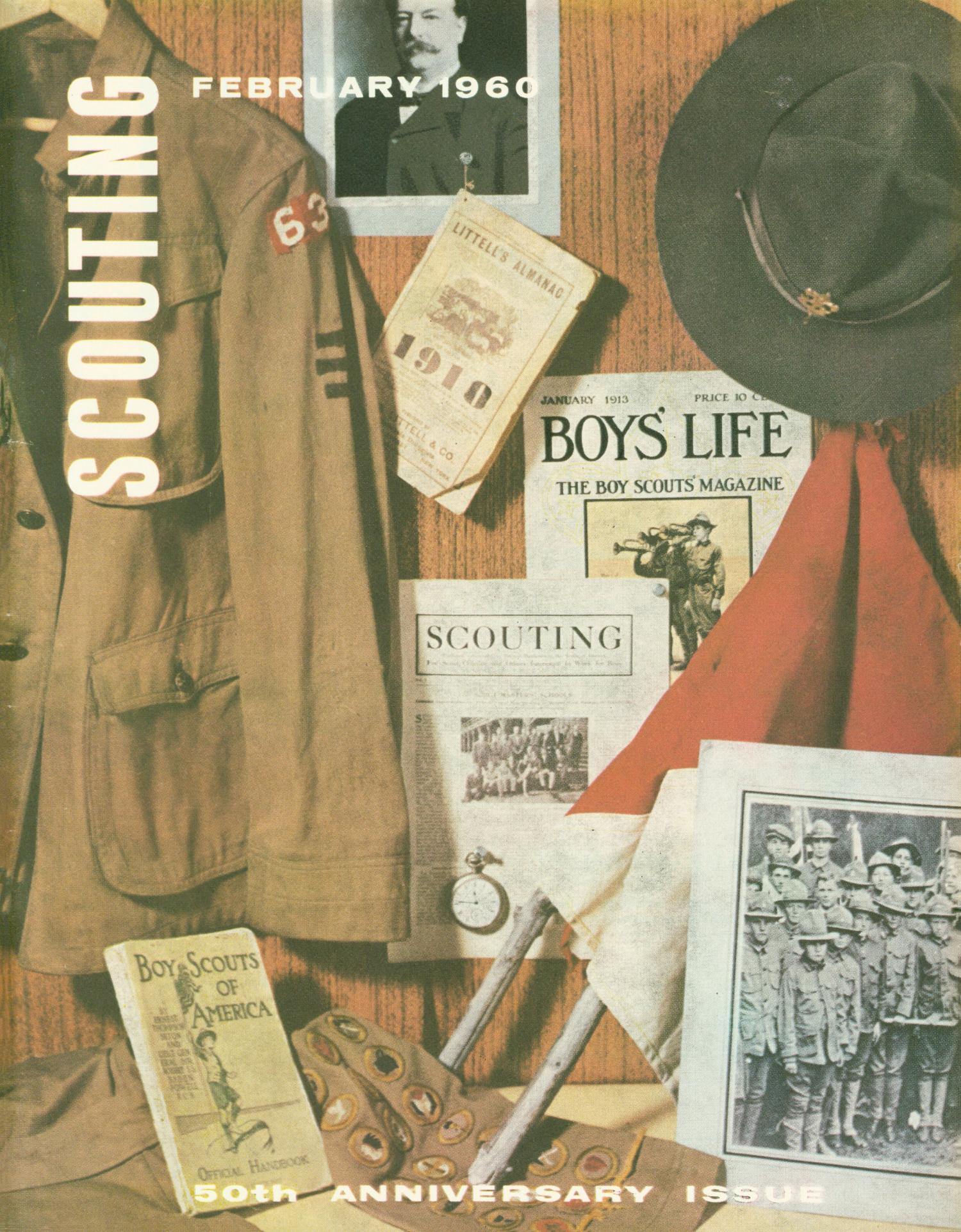 Scouting, Volume 48, Number 2, February 1960                                                                                                      Front Cover