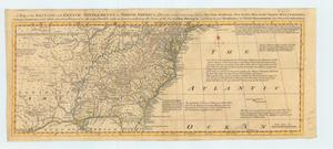 Primary view of object titled 'A Map of the British and French Settlements in North America'.