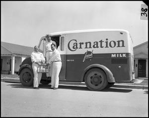 Primary view of object titled 'Carnation Milk [residential delivery]'.