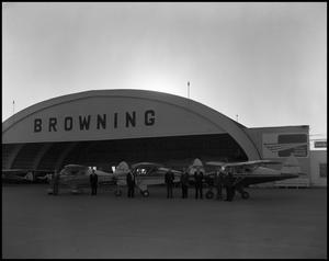 Primary view of object titled 'Browning Aviation'.