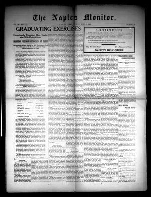 The Naples Monitor (Naples, Tex.), Vol. 38, No. 6, Ed. 1 Friday, June 1, 1923
