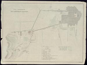 "Primary view of object titled '""Plan accompanying Gen. Quitman's Report""'."