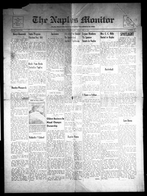 The Naples Monitor (Naples, Tex.), Vol. 62, No. 21, Ed. 1 Friday, December 5, 1947