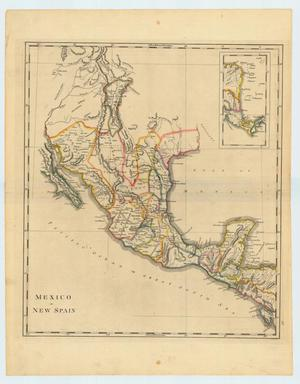 "Primary view of object titled '""Mexico or New Spain""'."