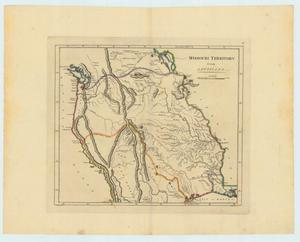 "Primary view of object titled '""Missouri Territory formerly Louisiana""'."