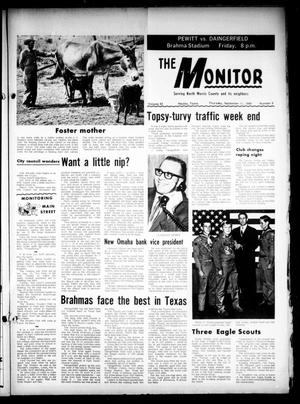 Primary view of object titled 'The Naples Monitor (Naples, Tex.), Vol. 83, No. 6, Ed. 1 Thursday, September 11, 1969'.