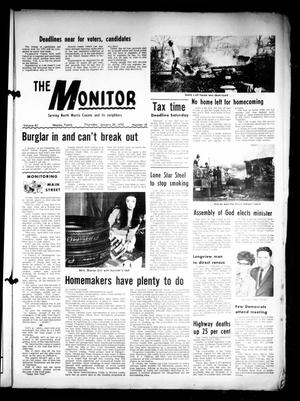 Primary view of object titled 'The Naples Monitor (Naples, Tex.), Vol. 83, No. 25, Ed. 1 Thursday, January 29, 1970'.