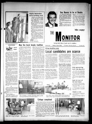Primary view of object titled 'The Naples Monitor (Naples, Tex.), Vol. 84, No. 28, Ed. 1 Thursday, February 25, 1971'.
