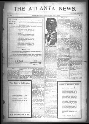 Primary view of object titled 'The Atlanta News. (Atlanta, Tex.), Vol. 8, No. 34, Ed. 1 Thursday, April 9, 1908'.