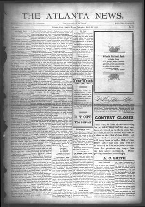 Primary view of object titled 'The Atlanta News. (Atlanta, Tex.), Vol. 8, No. 37, Ed. 1 Thursday, April 30, 1908'.