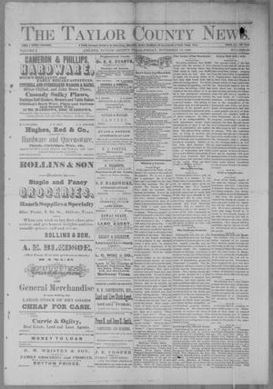 Primary view of object titled 'The Taylor County News. (Abilene, Tex.), Vol. 2, No. 36, Ed. 1 Friday, November 19, 1886'.