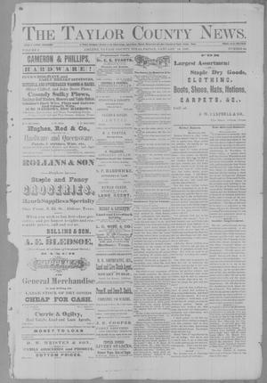 Primary view of object titled 'The Taylor County News. (Abilene, Tex.), Vol. 2, No. 44, Ed. 1 Friday, January 14, 1887'.