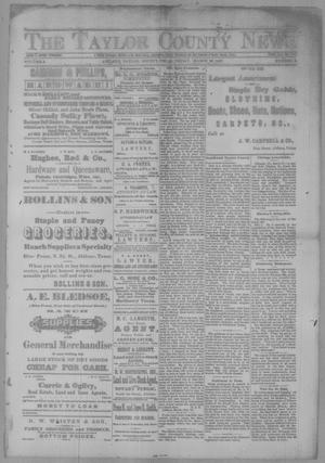 Primary view of object titled 'The Taylor County News. (Abilene, Tex.), Vol. 3, No. 2, Ed. 1 Friday, March 25, 1887'.