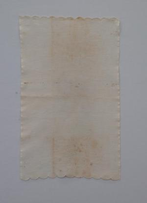 Primary view of object titled 'Cotton towel'.