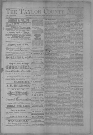 Primary view of object titled 'The Taylor County News. (Abilene, Tex.), Vol. 3, No. 46, Ed. 1 Friday, January 27, 1888'.