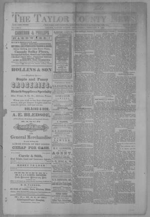 Primary view of object titled 'The Taylor County News. (Abilene, Tex.), Vol. 3, No. 47, Ed. 1 Friday, February 3, 1888'.
