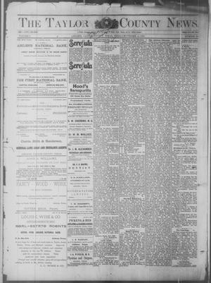 Primary view of object titled 'The Taylor County News. (Abilene, Tex.), Vol. 6, No. 38, Ed. 1 Friday, November 14, 1890'.