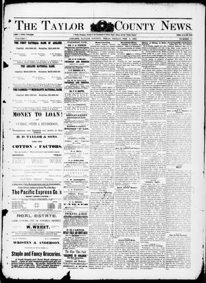 Primary view of object titled 'The Taylor County News. (Abilene, Tex.), Vol. 7, No. 50, Ed. 1 Friday, February 5, 1892'.