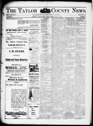 Primary view of object titled 'The Taylor County News. (Abilene, Tex.), Vol. 13, No. 21, Ed. 1 Friday, July 2, 1897'.