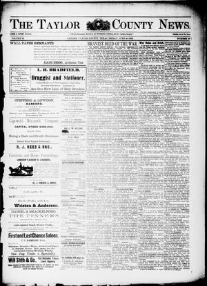Primary view of object titled 'The Taylor County News. (Abilene, Tex.), Vol. 14, No. 18, Ed. 1 Friday, June 10, 1898'.