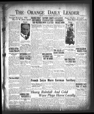Primary view of object titled 'The Orange Daily Leader (Orange, Tex.), Vol. 9, No. 30, Ed. 1 Monday, February 5, 1923'.