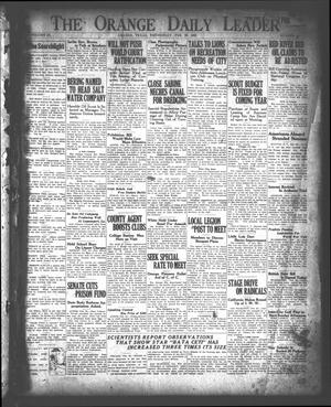 Primary view of object titled 'The Orange Daily Leader (Orange, Tex.), Vol. 9, No. 50, Ed. 1 Wednesday, February 28, 1923'.