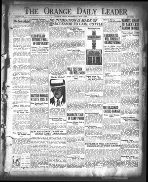 Primary view of object titled 'The Orange Daily Leader (Orange, Tex.), Vol. 9, No. 110, Ed. 1 Wednesday, May 9, 1923'.