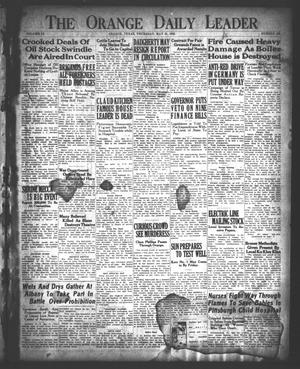Primary view of object titled 'The Orange Daily Leader (Orange, Tex.), Vol. 9, No. 129, Ed. 1 Thursday, May 31, 1923'.