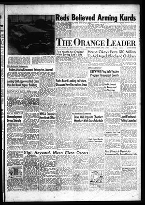 Primary view of object titled 'The Orange Leader (Orange, Tex.)., Vol. 56, No. 83, Ed. 1 Tuesday, April 7, 1959'.