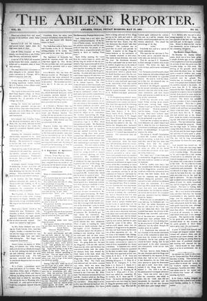 Primary view of object titled 'The Abilene Reporter. (Abilene, Tex.), Vol. 11, No. 22, Ed. 1 Friday, May 27, 1892'.