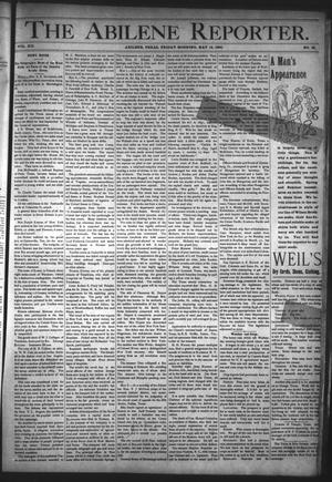 Primary view of object titled 'The Abilene Reporter. (Abilene, Tex.), Vol. 12, No. 19, Ed. 1 Friday, May 12, 1893'.
