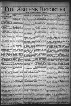 Primary view of object titled 'The Abilene Reporter. (Abilene, Tex.), Vol. 12, No. 21, Ed. 1 Friday, May 26, 1893'.