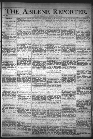Primary view of object titled 'The Abilene Reporter. (Abilene, Tex.), Vol. 12, No. 22, Ed. 1 Friday, June 2, 1893'.