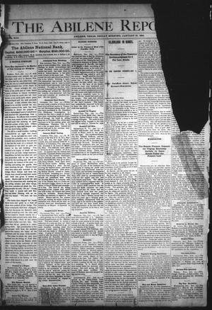 Primary view of object titled 'The Abilene Reporter. (Abilene, Tex.), Vol. 13, No. 3, Ed. 1 Friday, January 19, 1894'.