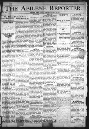 Primary view of object titled 'The Abilene Reporter. (Abilene, Tex.), Vol. 13, No. 4, Ed. 1 Friday, January 26, 1894'.